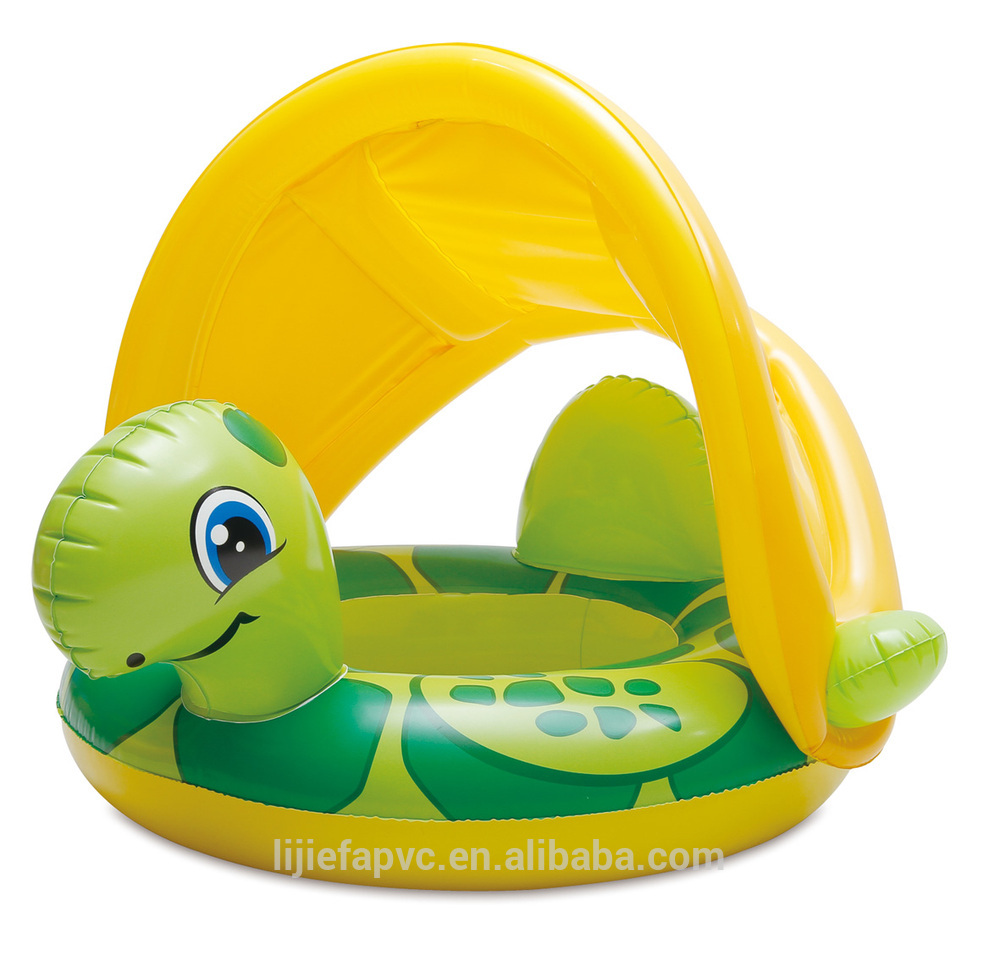 Cute Baby Floating Swim Seat Bee Pink Princess Inflatable Pool.