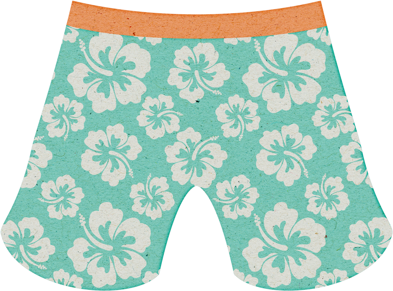 Trunk Clipart Summer Shorts.