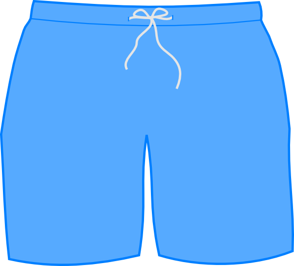 Swim Shorts At Clkercom Vector Online Royalty clipart free image.