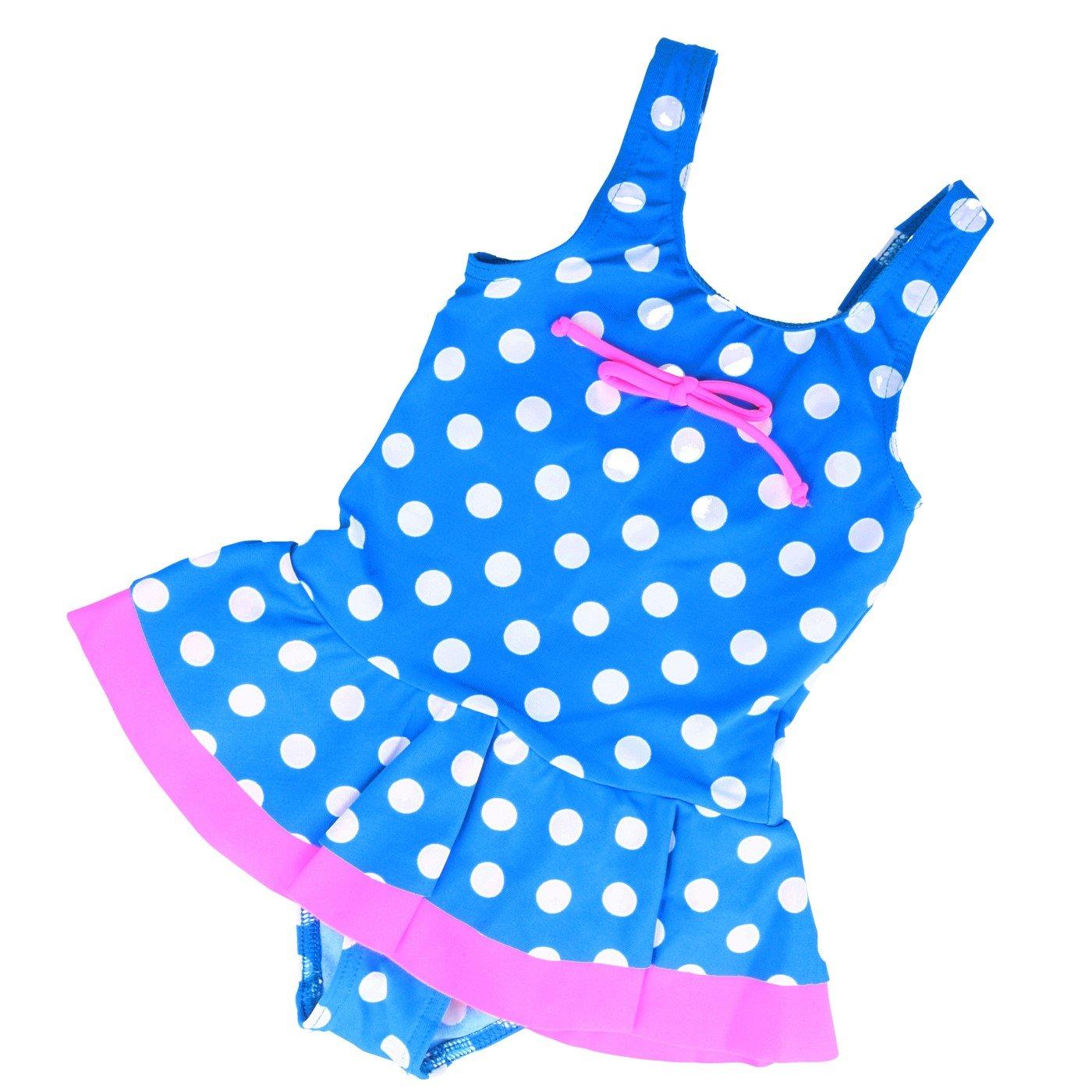 Girls Kids Swimsuit Beachwear Swimwear Childrens Swimming Costume 2.