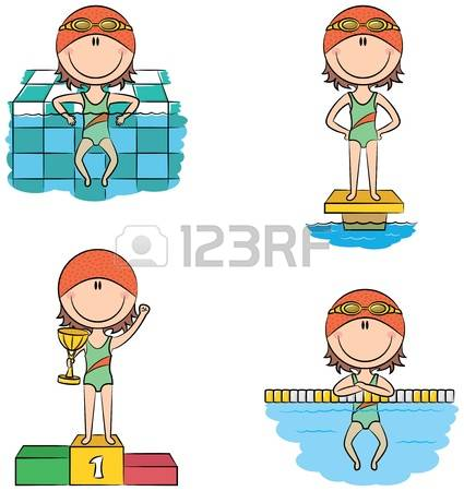 4,686 Swimming Competition Cliparts, Stock Vector And Royalty Free.