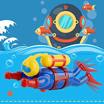 Amazon.com: vegan New Swimmers Diver Toy Wind Up Clockwork.