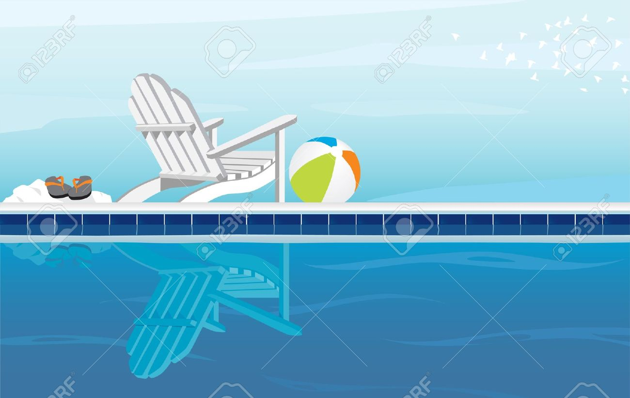 Beach clipart pool, Beach pool Transparent FREE for download.