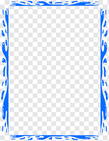 Water frame cutout PNG & clipart images.