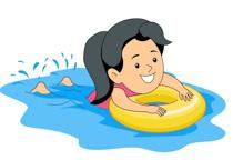 Swimmer Clipart.