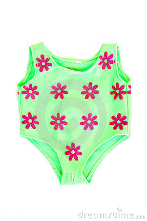 Baby Swimming Costume Royalty Free Stock Photography.