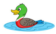 Free Duck Clipart.