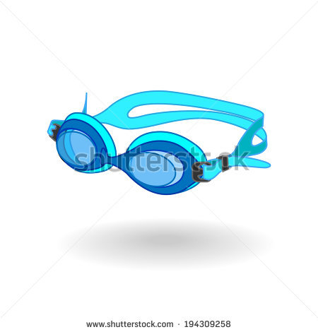Swimming Goggles Stock Images, Royalty.