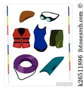 Swimming pool equipment Clip Art and Illustration. 872 swimming.