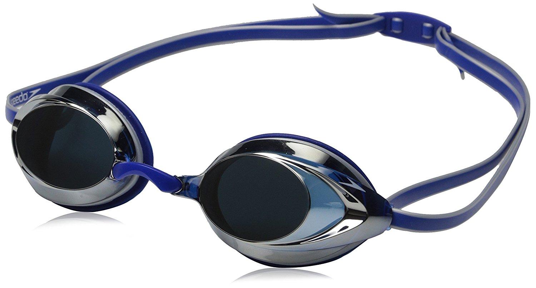 Amazon.com : Speedo Vanquisher 2.0 Mirrored Swim Goggle, Silver.