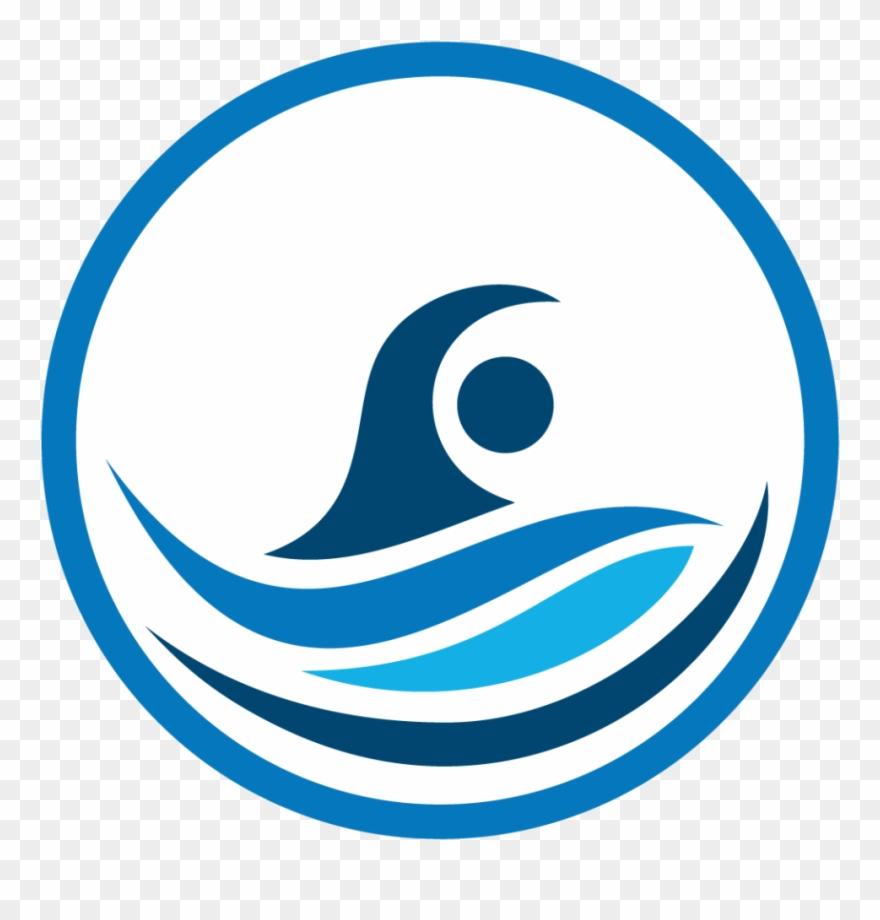 Swim Team Logo Branding The Red Chicken Swim Invitational.