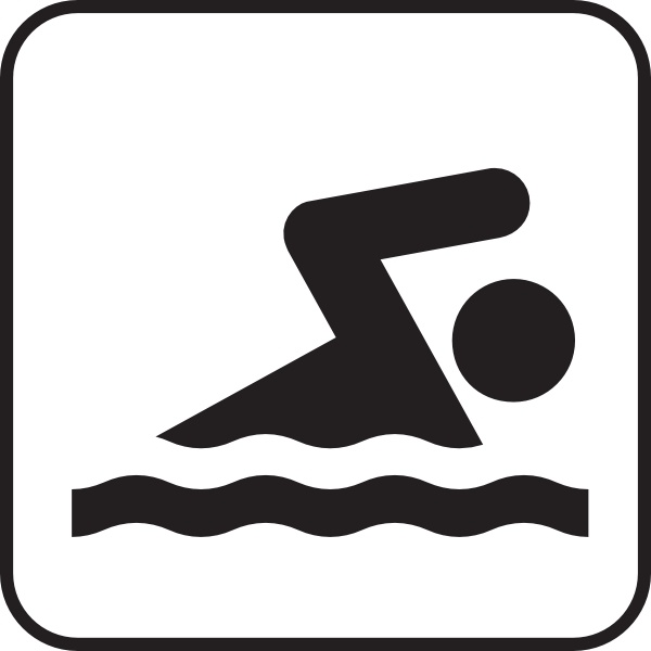 Free Clipart Swimming.