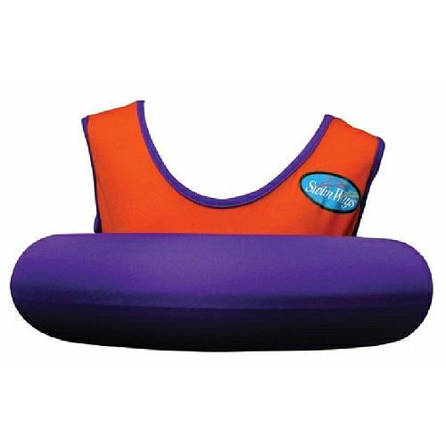 Swimways Orange and Purple Swim Sweater.