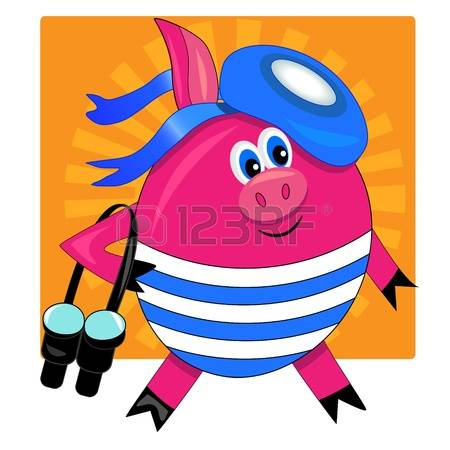 swimming pig clipart 20 free cliparts download images on