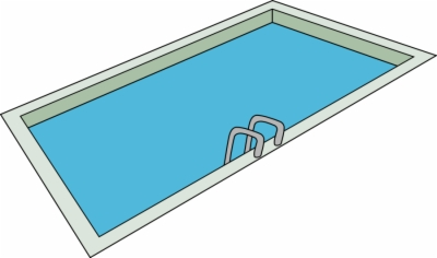 swimming pool , Free clipart download.