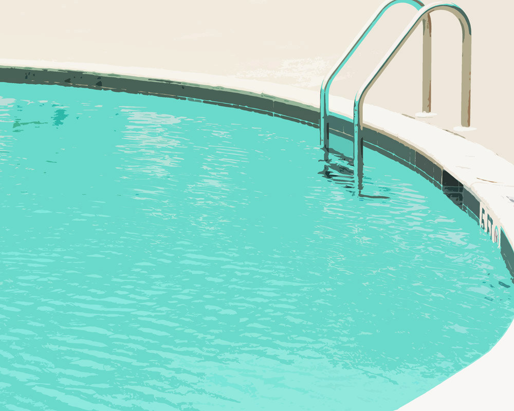Pools Swimming Pool Clipart To The Swimming Pool With A Round.