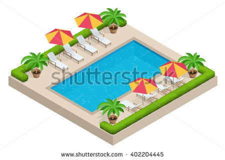 Swimming Pool Stock Vectors, Images & Vector Art.
