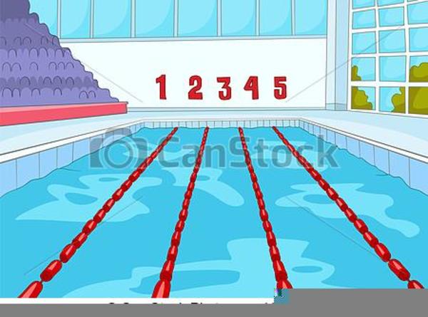 Cartoon Swimming Pool Clipart.