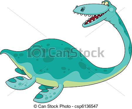 Swimming reptile clipart - Clipground
