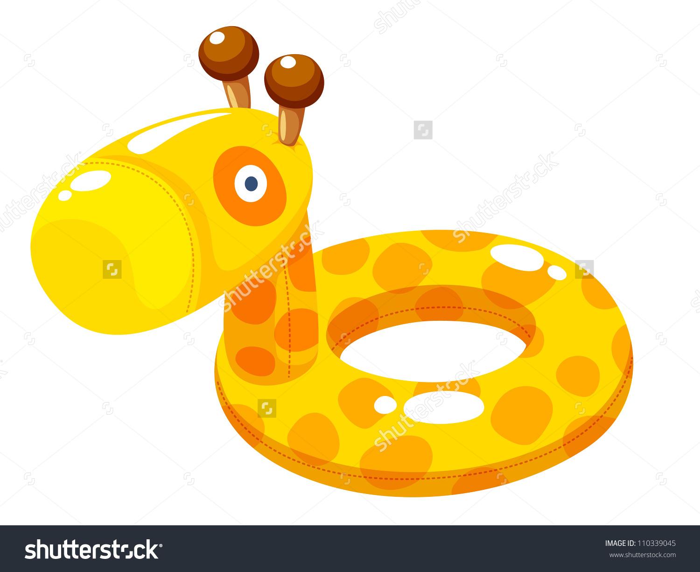 Swim Ring Vector Illustration.