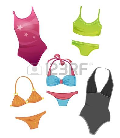 22,832 Swimwear Stock Vector Illustration And Royalty Free.