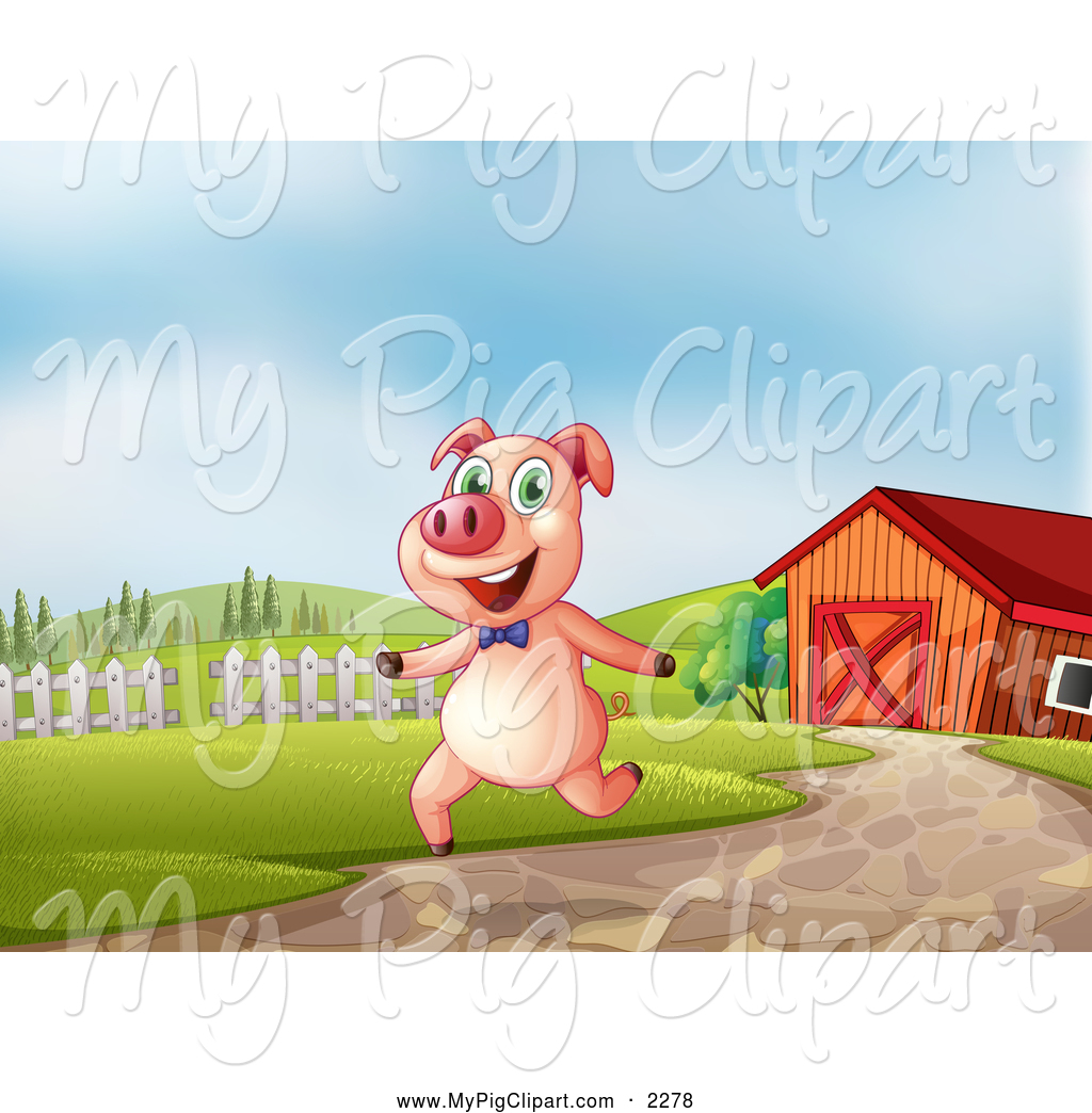 Royalty Free Barn Stock Pig Designs.