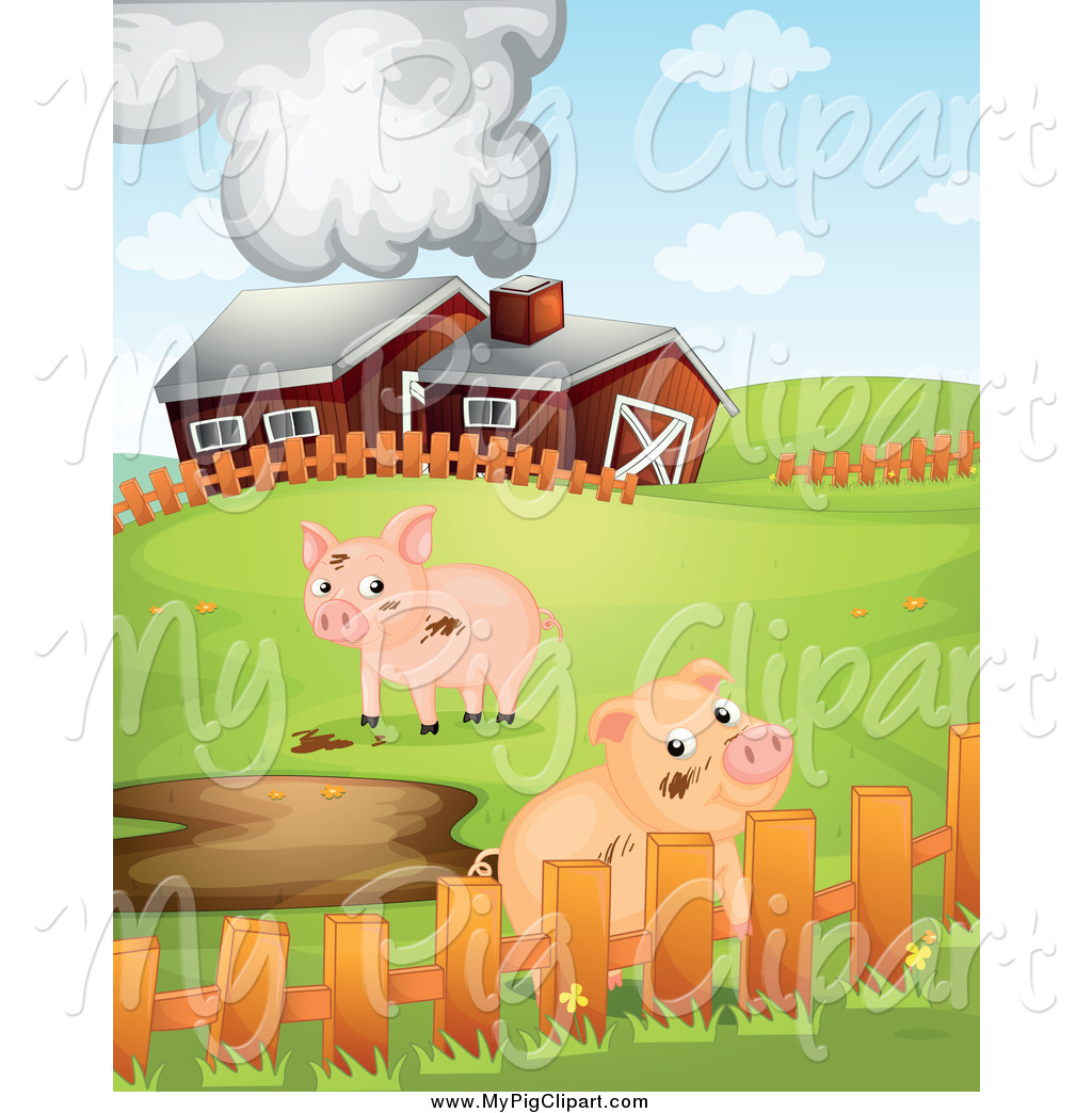 Royalty Free Livestock Stock Pig Designs.