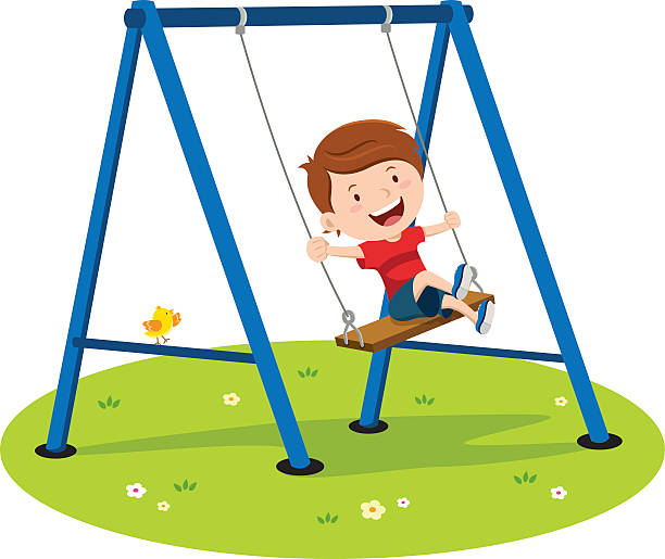 2285 Swing free clipart.