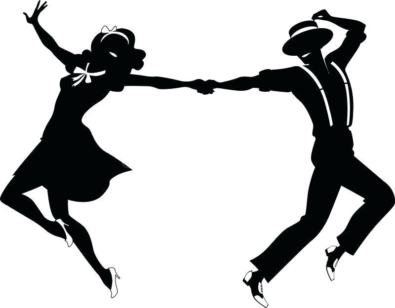 Swing Dance Clipart.