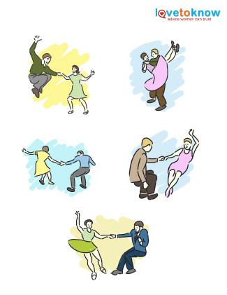 Swing Dance Clip Art.