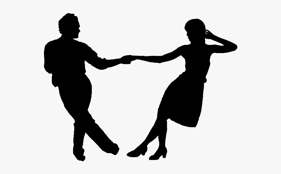 Swing Dancing Silhouette Png.