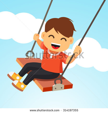 Child Swing Stock Photos, Royalty.
