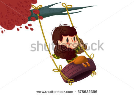 Tire Swing Stock Photos, Royalty.