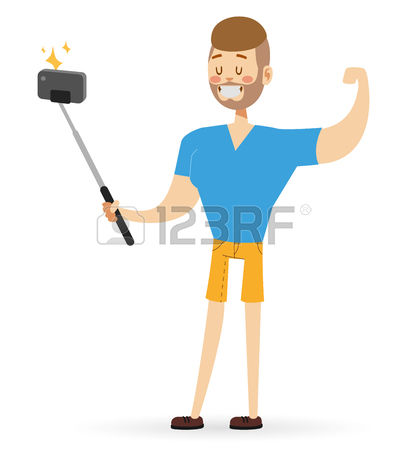 1,420 Selfie Device Stock Vector Illustration And Royalty Free.