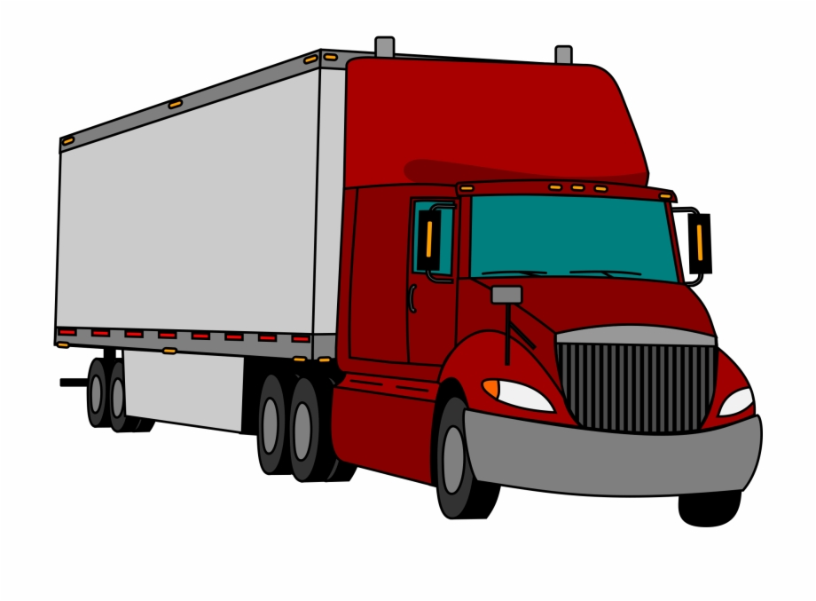 Clip art tractor trailer Transparent pictures on F.