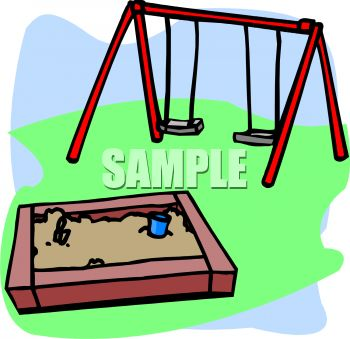Swing set clipart 1 » Clipart Station.