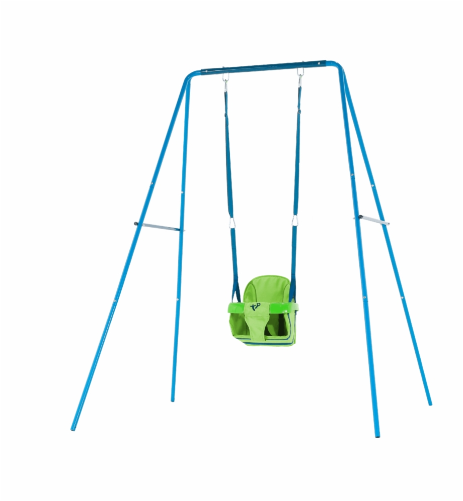 Tp Toys 2 In 1 Metal Swing Set.
