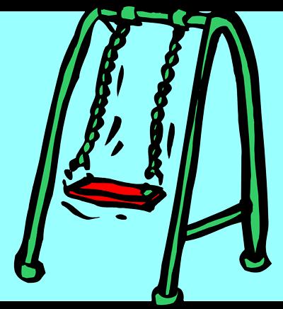 Swing Set Clipart.