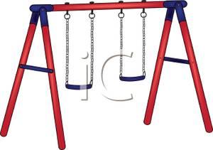 Backyard Swing Set.