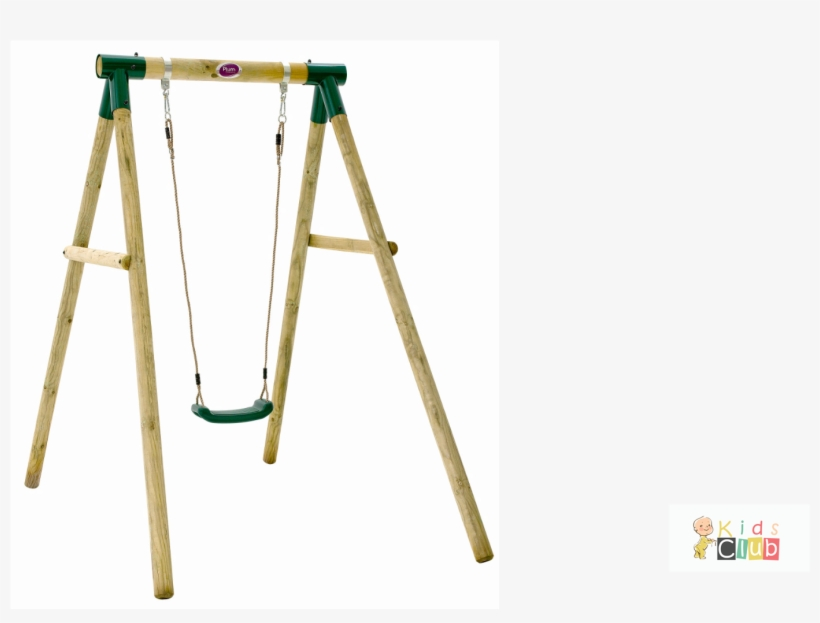 Plum Bush Baby Wooden Garden Swing Set.