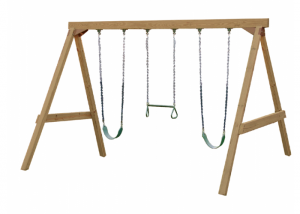 Next big outside project, my little one loves to swing.