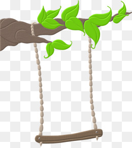 Swing On A Tree Clipart.