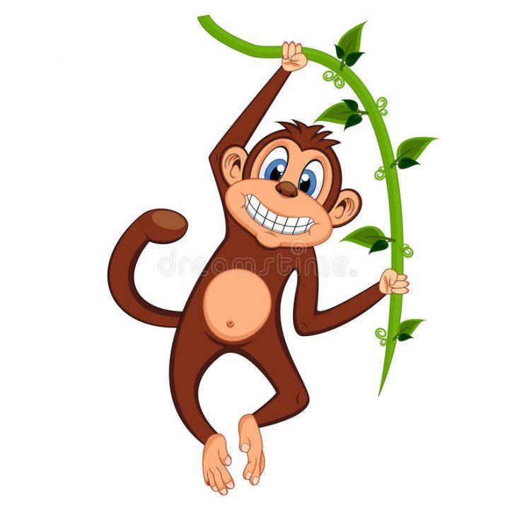 Swinging Monkey Drawing at GetDrawings.com.