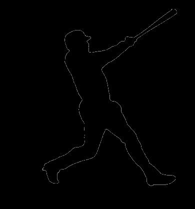 Swingman Logo Image Baseball.