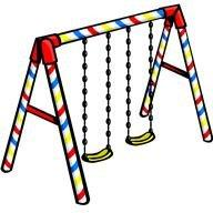 Swings clip art.