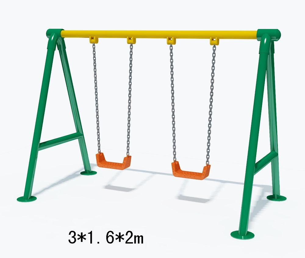 Playground Swing Set Clipart.