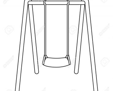 Swing clipart black and white » Clipart Station.