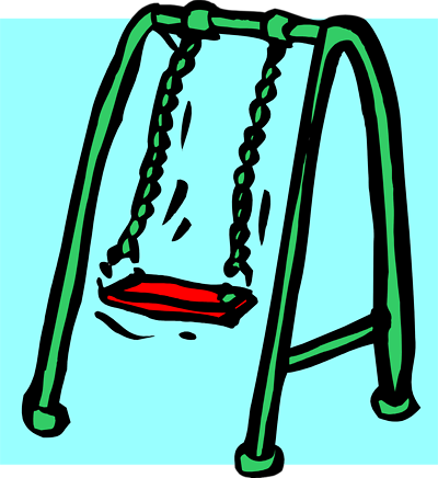 Picture Of A Swing Set.