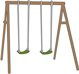 Free Clip art of Swing Clipart #4942 Best Swing Set Clipart #4942.