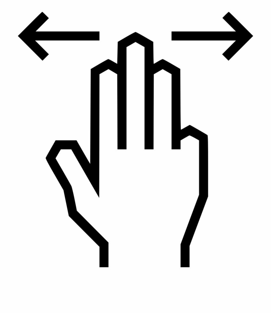 Png File Finger Swipe Icon.